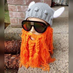 Other - Viking beard beanie!!!